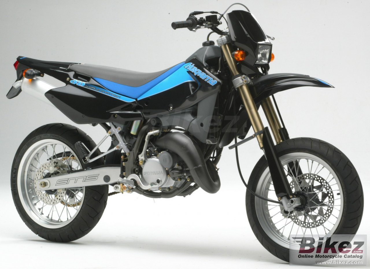 Big Husqvarna sm 125 s picture and wallpaper from Bikez.com