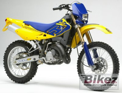 2005 husqvarna wre 125 specifications and pictures. Black Bedroom Furniture Sets. Home Design Ideas
