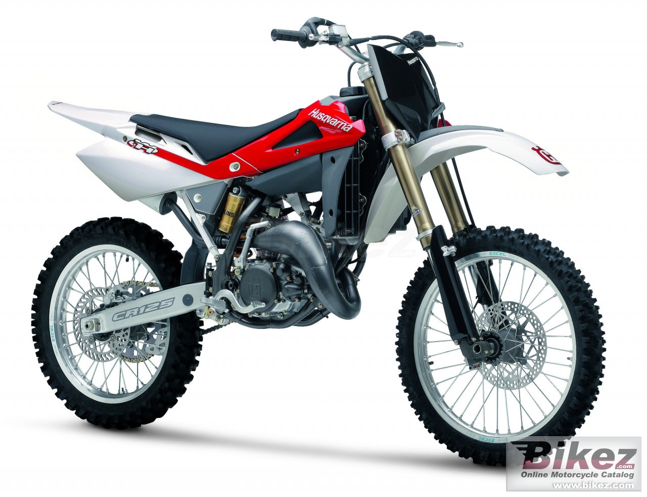 Big Husqvarna cr 125 picture and wallpaper from Bikez.com