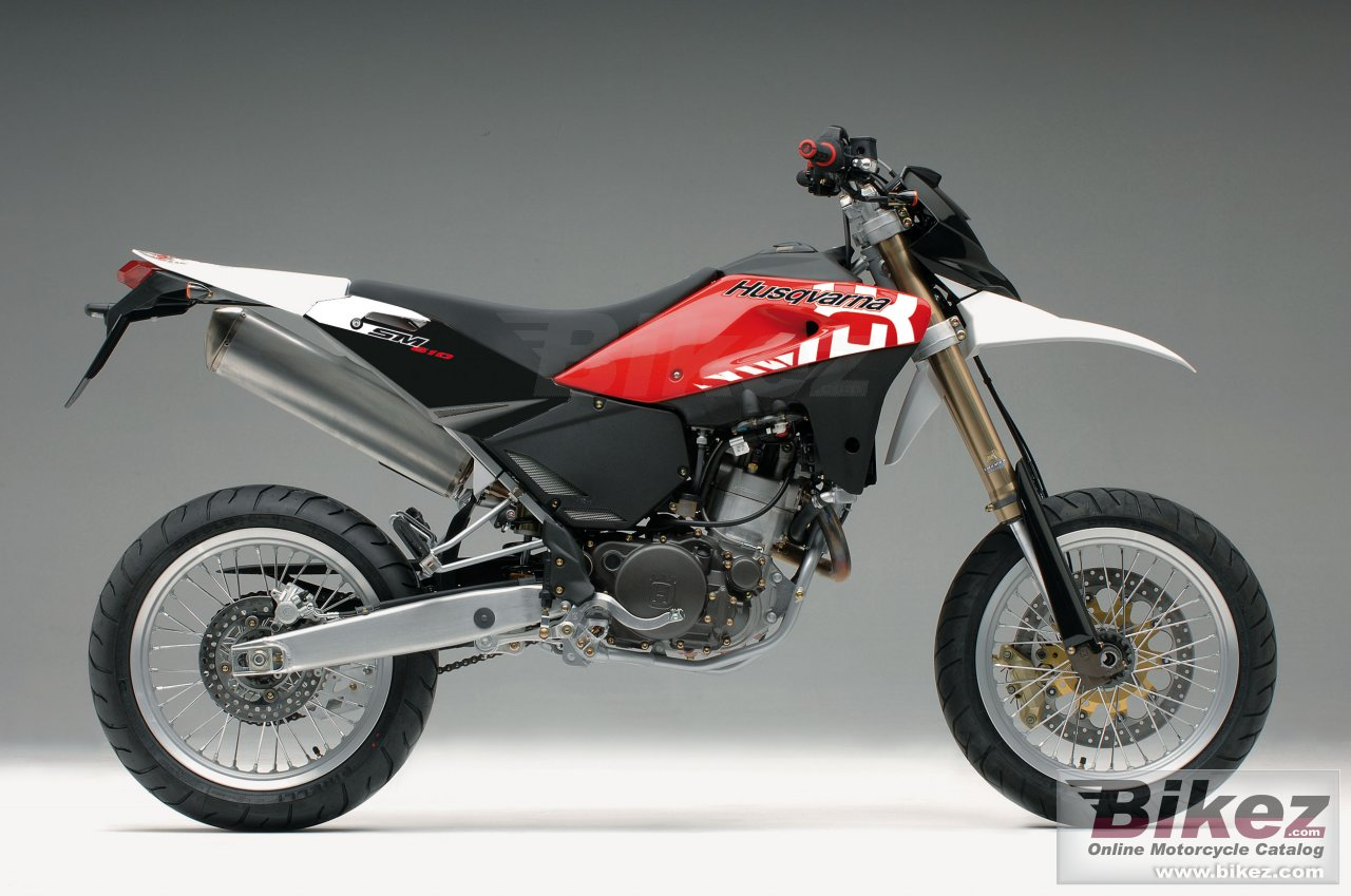 Big Husqvarna sm 610ie picture and wallpaper from Bikez.com