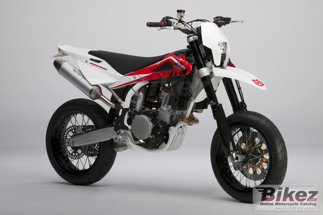 Big Husqvarna sm 450r picture and wallpaper from Bikez.com