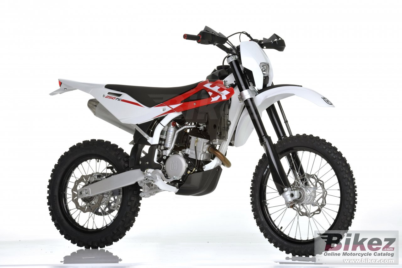 Big Husqvarna te250 picture and wallpaper from Bikez.com
