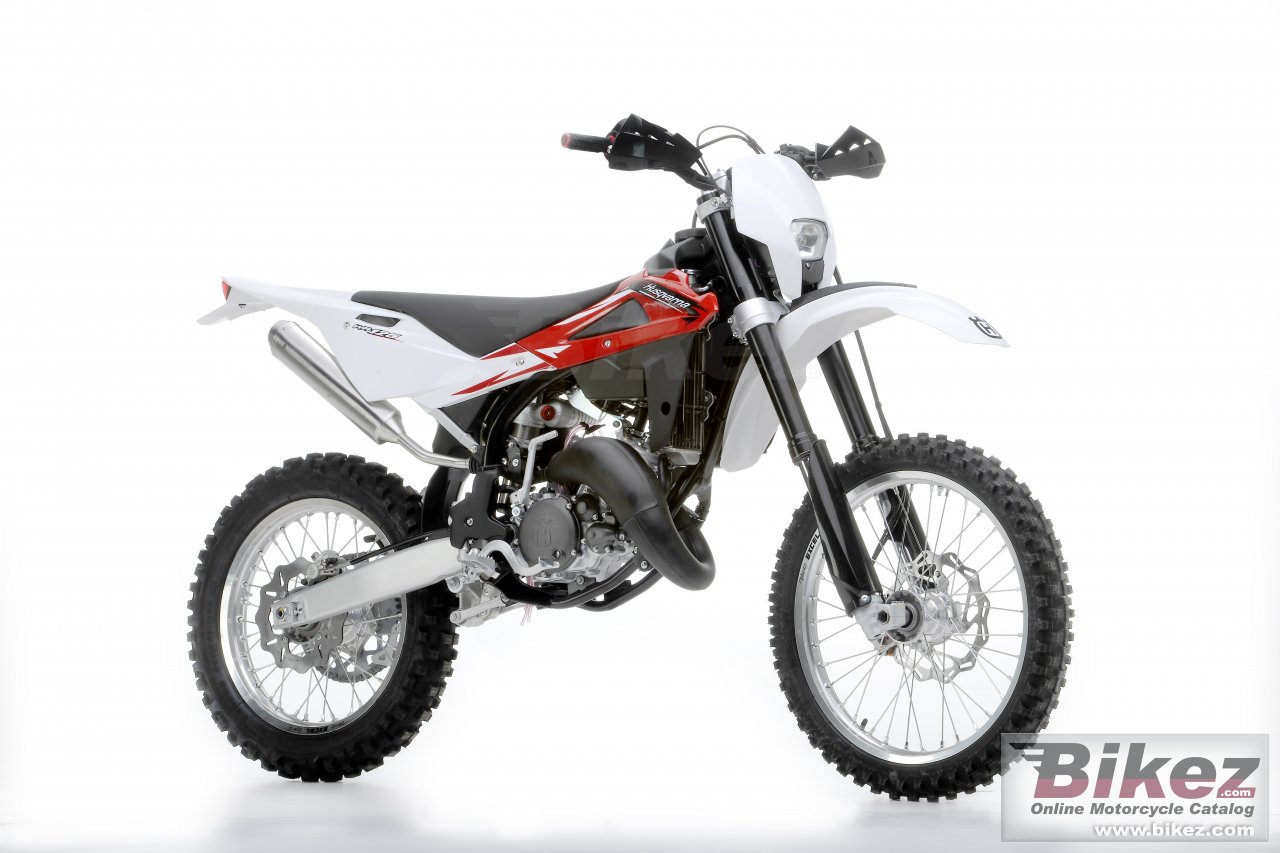Big Husqvarna wr125 picture and wallpaper from Bikez.com