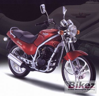 2000 Hyosung GF 125 photo