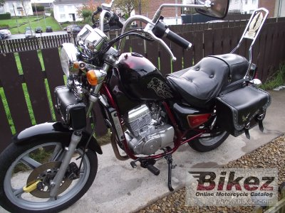 2000 Hyosung GA 125 F photo