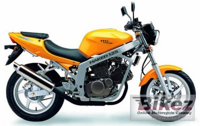 2003 Hyosung GT 125 Comet photo