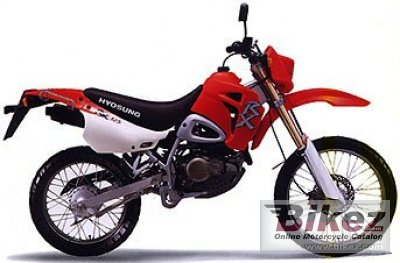 2003 Hyosung RX 125 photo