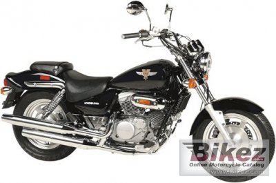 2004 Hyosung GV 250 Cruiser photo