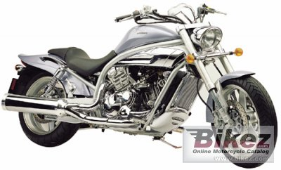 2004 Hyosung GV 1000 Cruiser photo