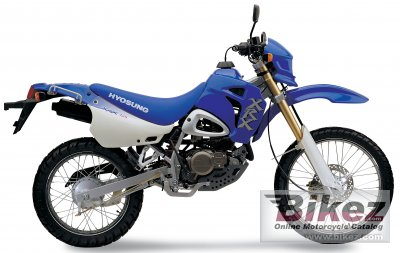 2005 Hyosung XRX 125 photo