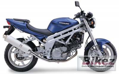 2006 Hyosung GT 650 photo