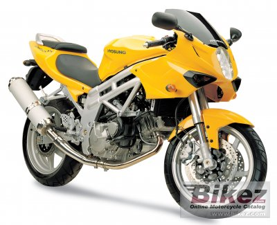 2006 Hyosung GT 650 S photo