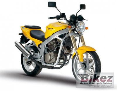 2007 Hyosung GT250 Naked - GT250 Comet photo