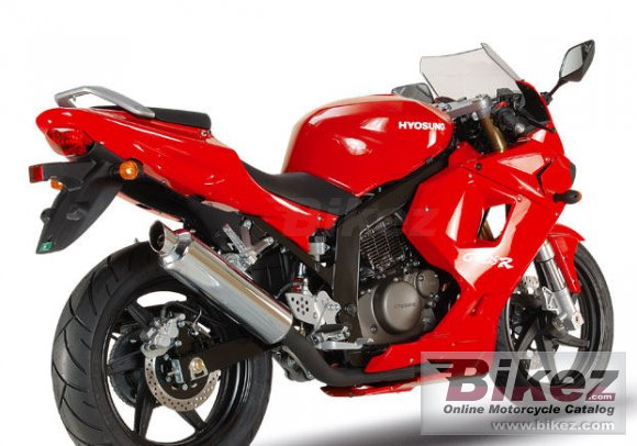 2007 Hyosung GT125R Supersport photo