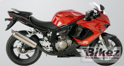 2007 Hyosung GT125R TTC photo