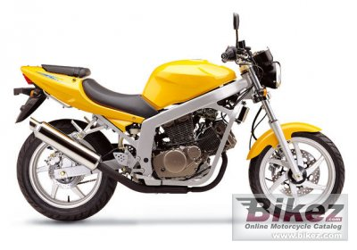 2007 Hyosung GT125 Naked - GT125 Comet