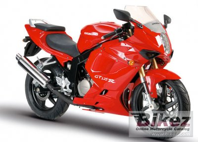 2007 Hyosung GT125R Supersport