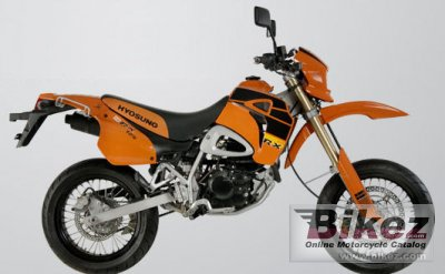 2007 Hyosung XRX 125 SM specifications and pictures