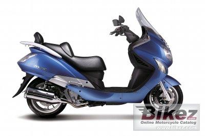 2008 Hyosung MS3-250