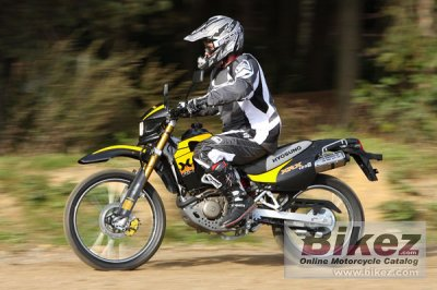 2008 Hyosung Xrx 125 Funduro Specifications And Pictures