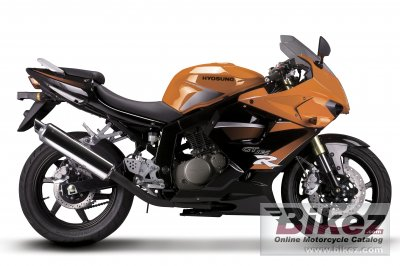 2009 Hyosung GT125R photo