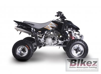 2009 Hyosung Rapier 450 Quad photo