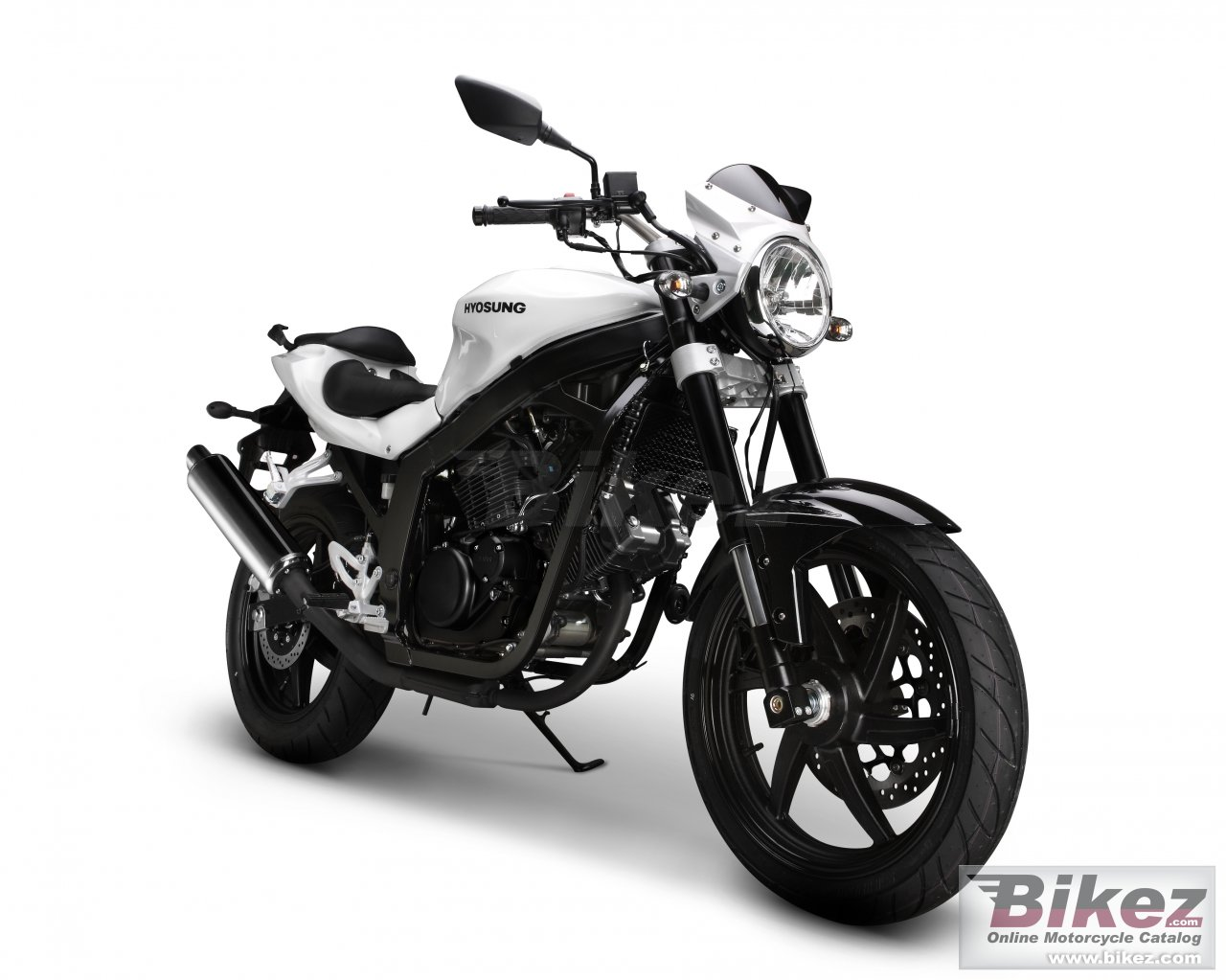 Big Hyosung gt 250 picture and wallpaper from Bikez.com