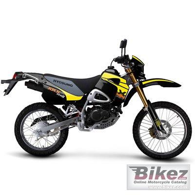 2011 Hyosung RX125D-E