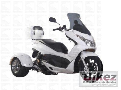 2016 Ice Bear Q6 50 Trike