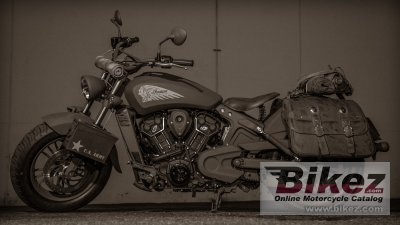 2018 Indian Scout 741B Call of Duty