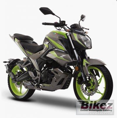 2020 Italika 250 Z