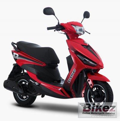 2020 Italika D150