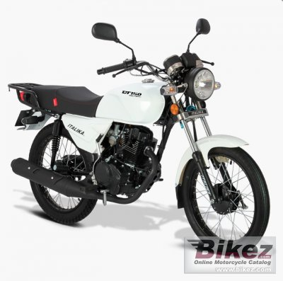 2020 Italika DT150 Delivery