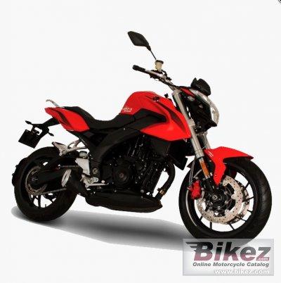 2020 Italika V0RT-X650