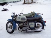 1973 IZH Jupiter 3 (with sidecar)