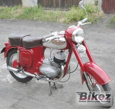 1973 Jawa-CZ 175