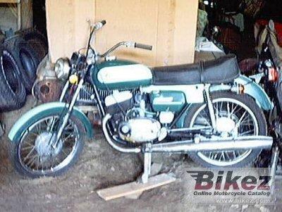 1974 Jawa-CZ 125