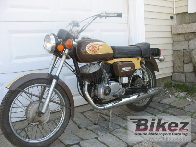 1975 Jawa Cz 175 Specifications And Pictures