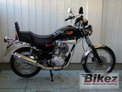 2006 Jawa-CZ 125 Chopper photo
