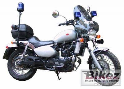 2011 Jawa-CZ 650 Police photo