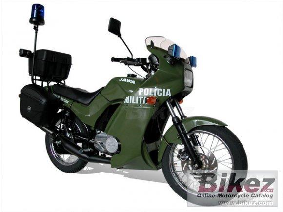 Jawa-CZ 350 Police