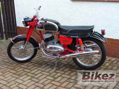 1971 Jawa 250 California Specifications And Pictures
