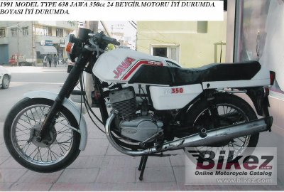 1991 Jawa 350 TS photo