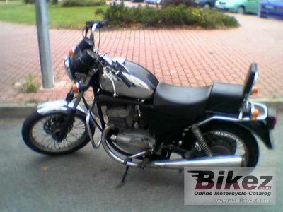 1996 Jawa 639 Chopper 350 photo