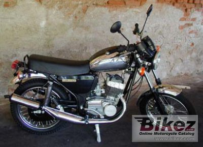 2001 Jawa 350 Chopper photo