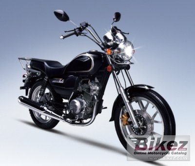 2011 Jianshe JS125-6C