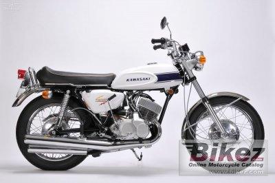 1969 Kawasaki 500 H1