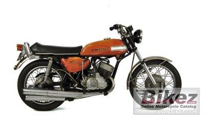 1969 Kawasaki Match III 500