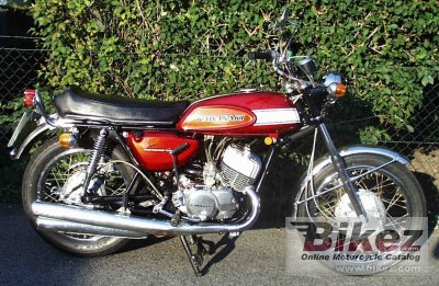1970 Kawasaki 500 H 1 Mach III specifications and pictures