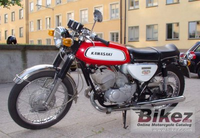 1970 Kawasaki A1 Samurai specifications and pictures